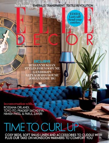 Elle Decor August September 2014
