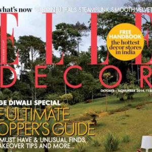 Elle Decor October November 2014
