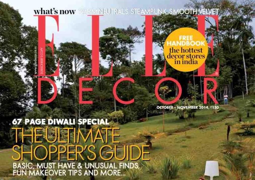 Elle Decor October November 2014