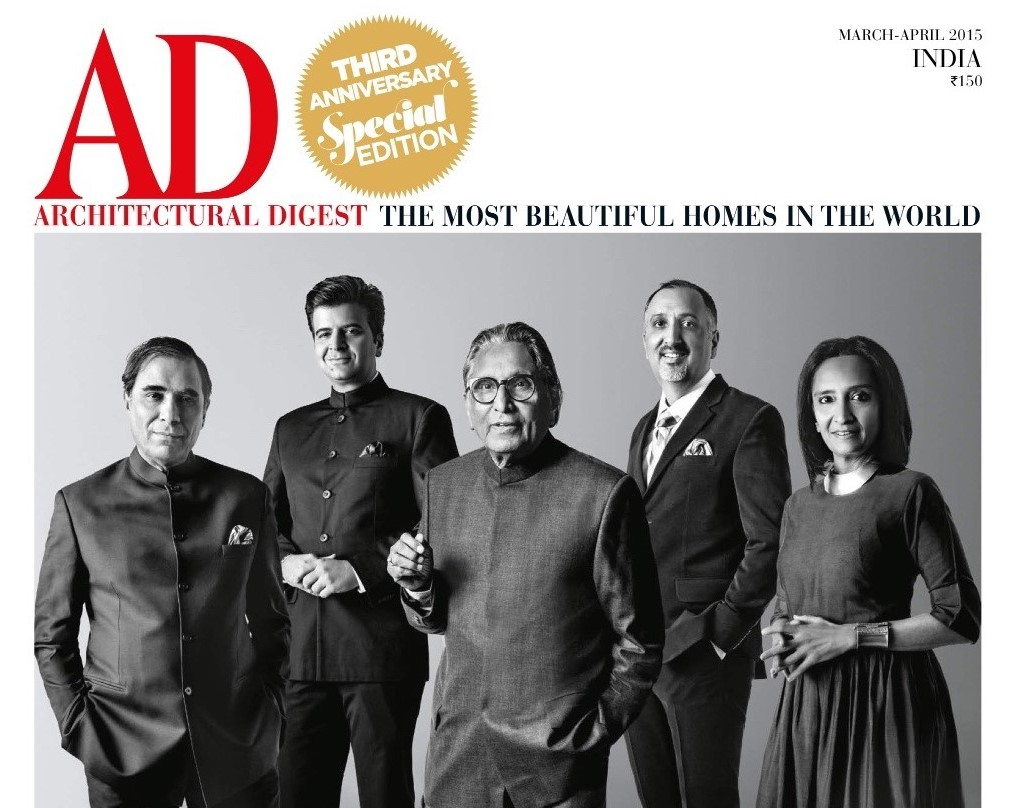 Architectural Digest India March April 2015