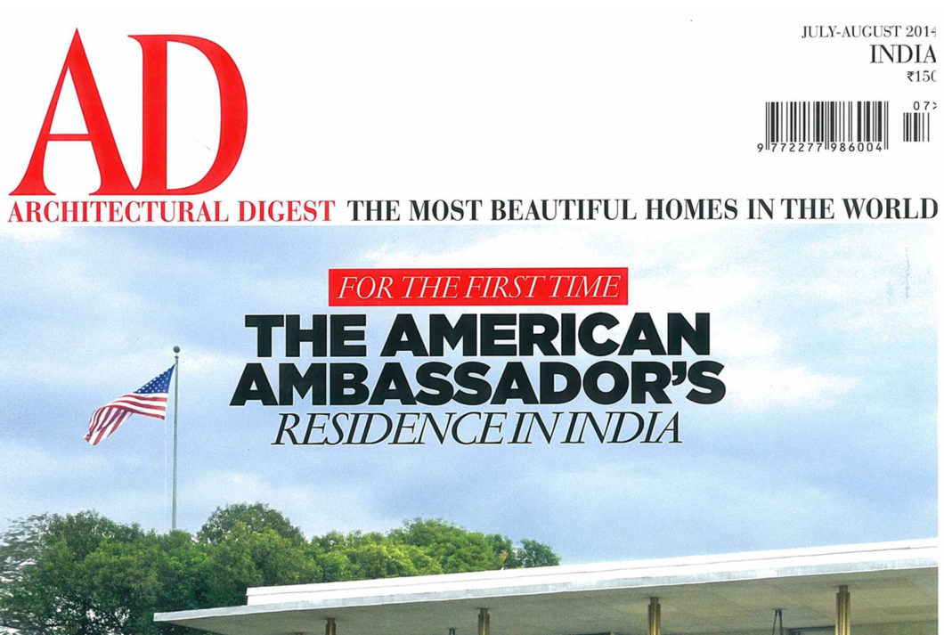 Architectural Digest June July 2014