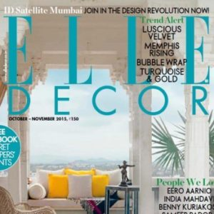 Elle Decor India October 2015