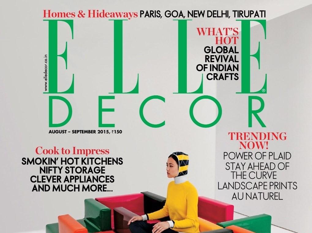 Elle Decor September 2015