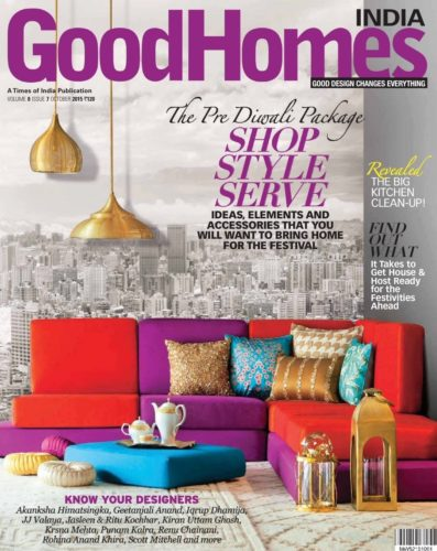 Good Homes India October 2015