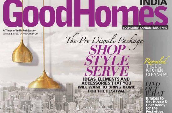 Good Homes India October 2015