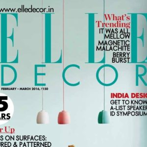 Elle Decor February 2016