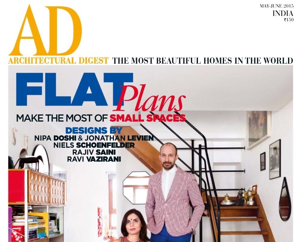 Architectural Digest India May June 2015