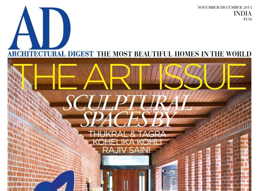 Architectural Digest India December 2015