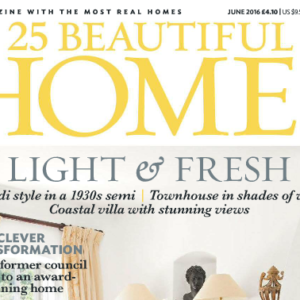 25 Beautiful Homes UK July 2016