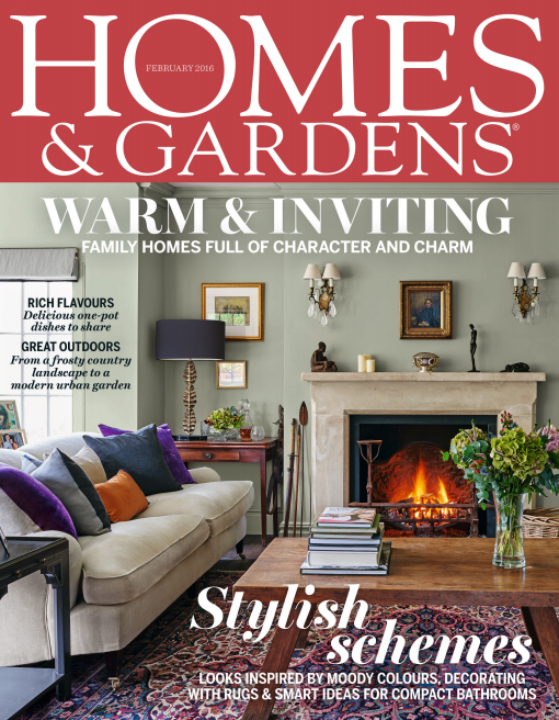 Homes and Gardens UK February 2016
