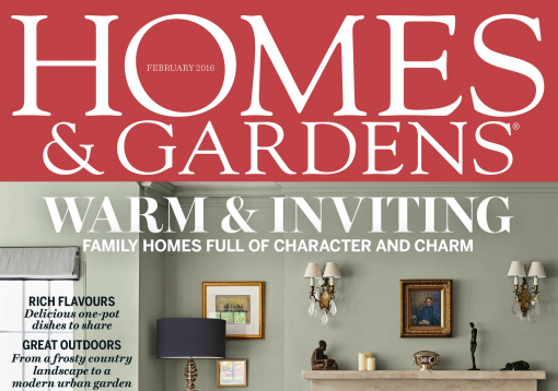 Homes and Gardens February 2016