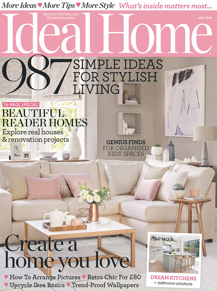 Ideal Home UK April 2016
