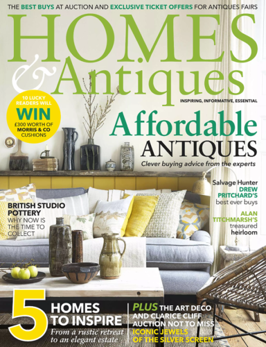 Homes and Antiques UK April 2016