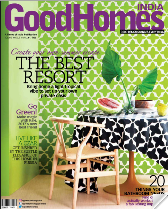 Attractive Thank You To Good Homes For Featuring One Of Our Favourite Pieces Here At  Iqrup + Ritz HQ, The Gymkhana Chair In Coconut Palm Pickers Fabric!